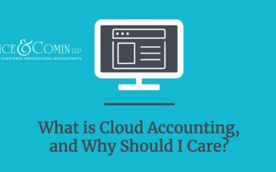 What is Cloud Accounting, And Why Should I Care?